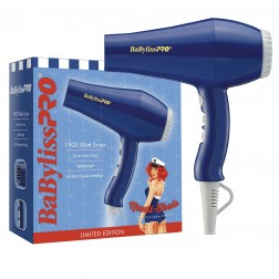 Babyliss Nautical Inspired Blue w/white accents 1900W Hair Dryer