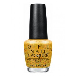 OPI Lacquer Pineapples Have Peelings Too! H76 0.5 Oz