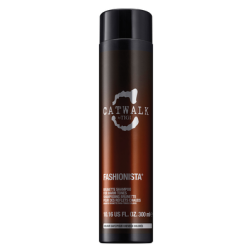 TIGI Fashionista Brunette Shampoo for Warm Tones - Catwalk 10.14 Oz
