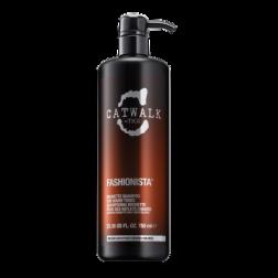 TIGI Fashionista Brunette Shampoo for Warm Tones - Catwalk 25.36 Oz