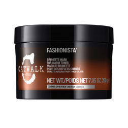 TIGI Fashionista Brunette Mask for Warm Tones 7.05 Oz