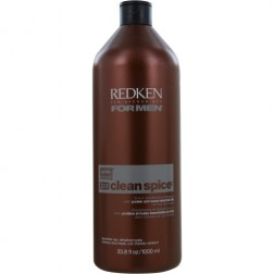 Redken Clean Spice 2-in-1 Conditioning Shampoo 33.8 Oz For Men