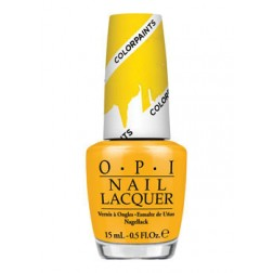 OPI Lacquer Primarily Yellow P20 0.5 Oz
