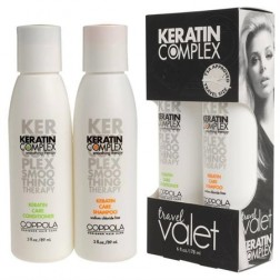 Keratin Complex Travel Valets Care Shampoo and Conditioner (3 Oz each)