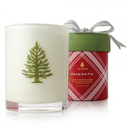 Thymes Frasier Fir Holiday Wood Wick Candle