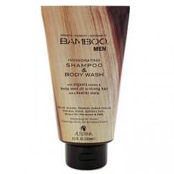 Alterna Bamboo Men Invigorating Shampoo and Body Wash 8.5 Oz