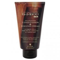 Alterna Bamboo Men Nourishing Conditioner and Shaving Cream 8.5 Oz