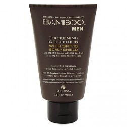 Alterna Bamboo Men Thickening Gel Lotion with SPF 15 Scalp Shield 3 Oz