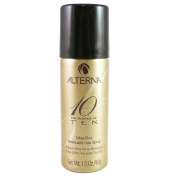 Alterna Ten Ultra Fine Brushable Hair Spray 1.5 Oz