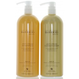Alterna Bamboo Smooth Anti-Frizz Shampoo And Conditioner Duo (33.8 Oz each)