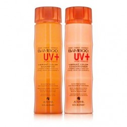 Alterna Bamboo UV+ Color Protection Vibrant Color Shampoo And Conditioner Duo (8.5 Oz each)