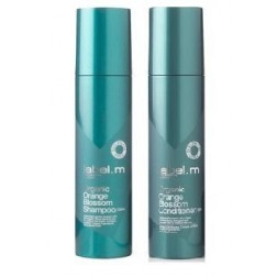 Label.m Organic Orange Blossom Shampoo And Conditioner Duo (6.8 Oz each)