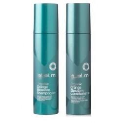 Label.m Organic Orange Blossom Shampoo And Conditioner Duo (6.8 Oz each)