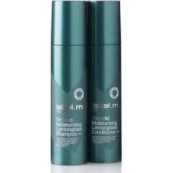 Label.m Organic Lemongrass Shampoo And Conditioner Duo (6.8 Oz each)