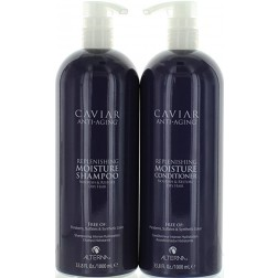Alterna Caviar Replenishing Moisture Shampoo And Conditioner Duo (33.8 Oz each)