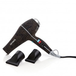 Amika Power Cloud Repair and Smooth Hair Dryer - Bronze and Black
