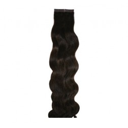 Aqua Hair Extensions Seamless Tape Body Wave