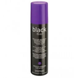 Black 15 in 1 Miracle Finishing Hair Spray 3 Oz