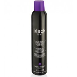 Black 15 in 1 Miracle Finishing Hair Spray 10 Oz