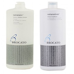 Brocato Saturate Intensive Moisture Shampoo And Leave-In Conditioner Duo (32 Oz each)