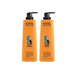 KMS California Curl Up Shampoo And Conditioner Duo (25.3 Oz each)