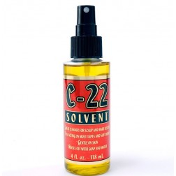 C 22 Citrus Solvent Hair Extensions Adhesive Remover 4 Oz