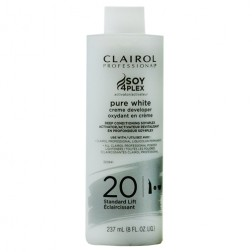 Clairol Professional Pure White Crème Developer 20 Volume 8 Oz