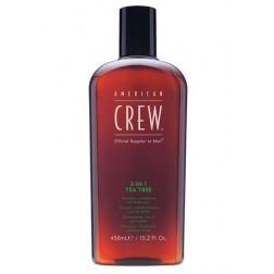 American Crew 3-In-1 Tea Tree Shampoo, Conditioner & Body Wash 3.3 Oz