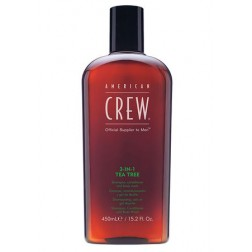 American Crew 3-In-1 Tea Tree Shampoo, Conditioner & Body Wash 15.2 Oz