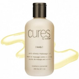 Cures by Avance Anti-Stress Massage Oil Gallon