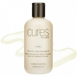 Cures by Avance Muscular Ease Massage Oil 16 Oz
