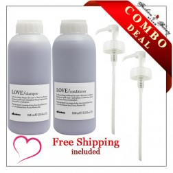 Davines Love Smoothing Liter Value Set