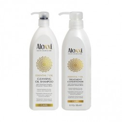 Aloxxi Essential 7 Oil Shampoo & Conditioner Duo Liter