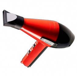 Elchim 2001 Professional Hair Dryer - Red and Black