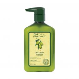 Farouk CHI Olive Organics Hair & Body Conditioner 11.5 Oz