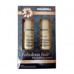 Goldwell Kerasilk Rich Care Holiday Duo Shampoo and Daily Mask
