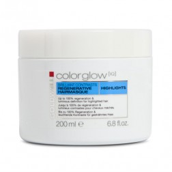 Goldwell Colorglow IQ Highlights Brilliant Contrast Hair Masque 6.8 Oz