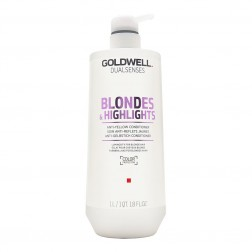 Goldwell Dualsenses Blondes & Highlights Anti-Yellow Conditioner 33.8 Oz