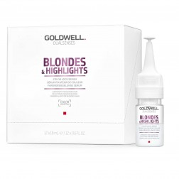 Goldwell Dualsenses Blondes & Highlights Color Lock Serum 12 x 0.6 Oz