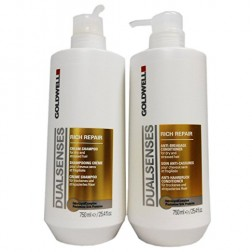 Goldwell Dualsenses Rich Repair Shampoo And Conditioner Duo (25.4 Oz each)