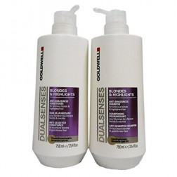 Goldwell Dualsenses Blondes & Highlights Shampoo And Conditioner Duo (25.4 Oz each)