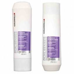 Goldwell Dualsenses Blondes & Highlights Shampoo And Conditioner Duo (10 Oz each)