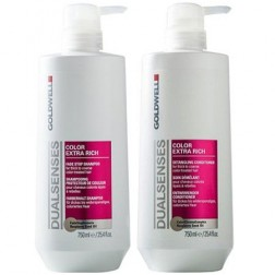 Goldwell Dualsenses Color Extra Rich Fade Stop Shampoo And Conditioner Duo (25 Oz each)