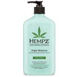 Hempz Triple Moisture Herbal Whipped Body Créme 17 Oz