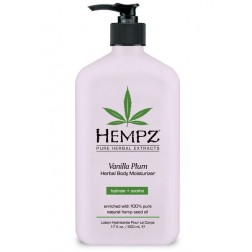 Hempz Vanilla Plum Herbal Body Moisturizer 2.25 Oz