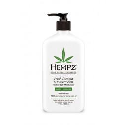 Hempz Fresh Coconut & Watermelon Herbal Body Moisturizer 17 Oz