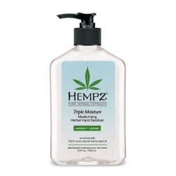 Hempz Triple Moisture Moisturizing Herbal Hand Sanitizer 8.5 Oz