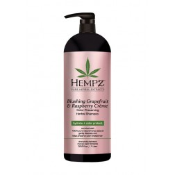 Hempz Blushing Grapefruit & Raspberry Crème Color-Preserving Shampoo 9 Oz