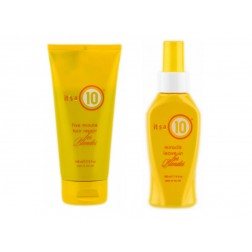 Its a 10 Miracle Five Minute Hair Repair For Blondes 5 Oz And Leave In for Blondes 4 Oz
