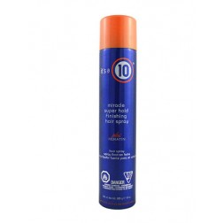 Its a 10 Miracle Super Hold Hair Spray plus Keratin 10 Oz
